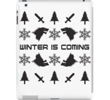 Winter Is Coming | Game of Thrones Ugly Christmas Sweater iPad Case/Skin