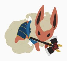 Warrior Pokemon: Flareon by Lawrence-Lore