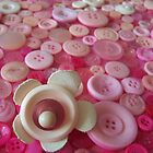 Pink Buttons by Nic  Hohn