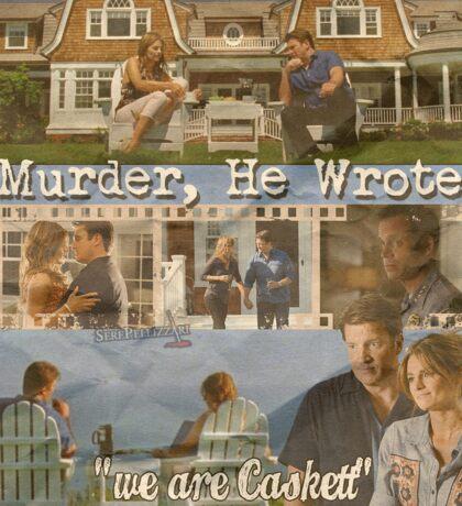 Castle - Murder, he wrote Sticker
