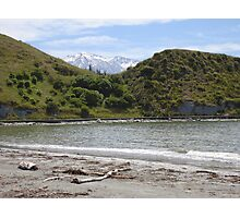 Beach and Mountains Photographic Print