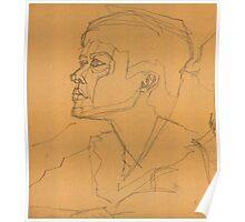 portrait study 2 Poster