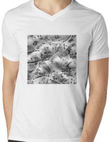 Bubblestract Mens V-Neck T-Shirt