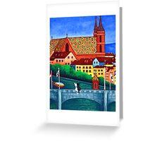 Remembering Basel Greeting Card