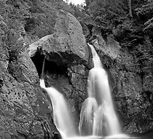 Upstate waterfall view 1. by Gabor Papai