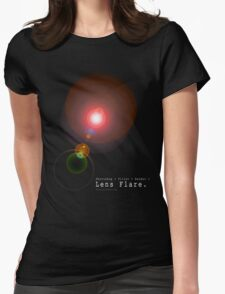 Lens Flare Womens Fitted T-Shirt