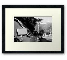 cadillac in hollywood Framed Print