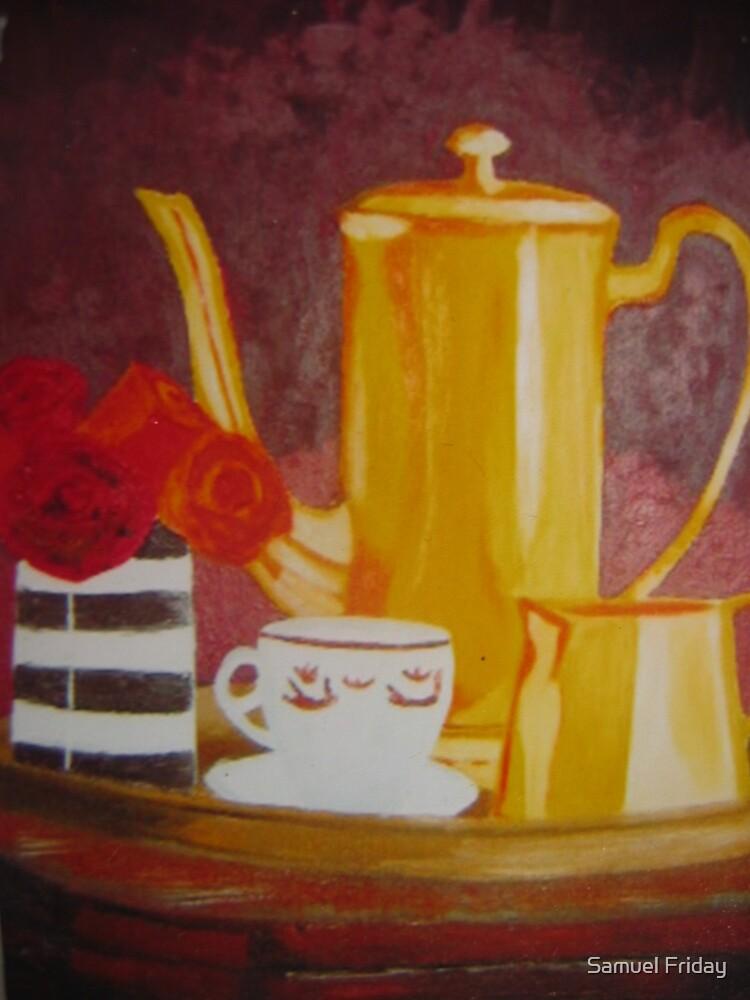 tea break by Samuel Friday