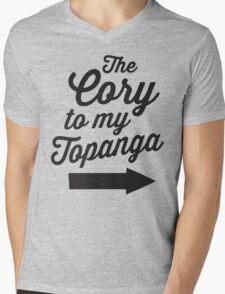 The Cory To My Topanga | Boy Meets World Quote Shirt Mens V-Neck T-Shirt