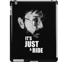 "Bill Hicks - ""It's Just a Ride"" iPad Case/Skin"