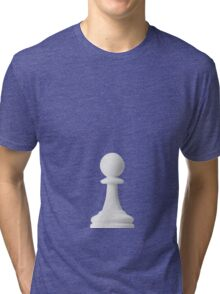 GAME OF THE THRONE / THE WHITE PAWN Tri-blend T-Shirt