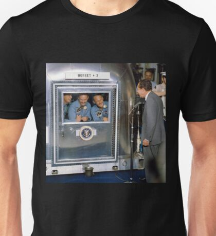 Apollo 11 Crew In Quarantine Unisex T-Shirt