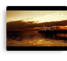Geelong's Lightshow Canvas Print