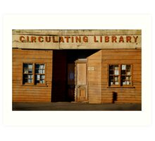 Clunes Circulating Library Art Print