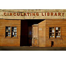 Clunes Circulating Library Photographic Print
