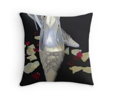 The Wedding Shoes Throw Pillow