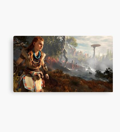 Horizon Zero Dawn #4 Canvas Print