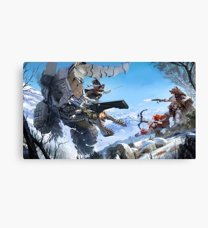 Horizon Zero Dawn #5 Canvas Print