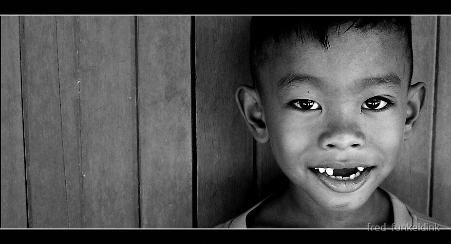 Thai smiles by fred  funkeldink