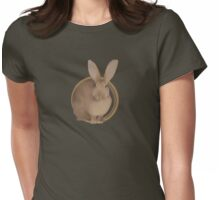 Flemish Giant Rabbit (plain) Womens Fitted T-Shirt
