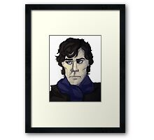 Mrs Hudson Took My Skull Framed Print