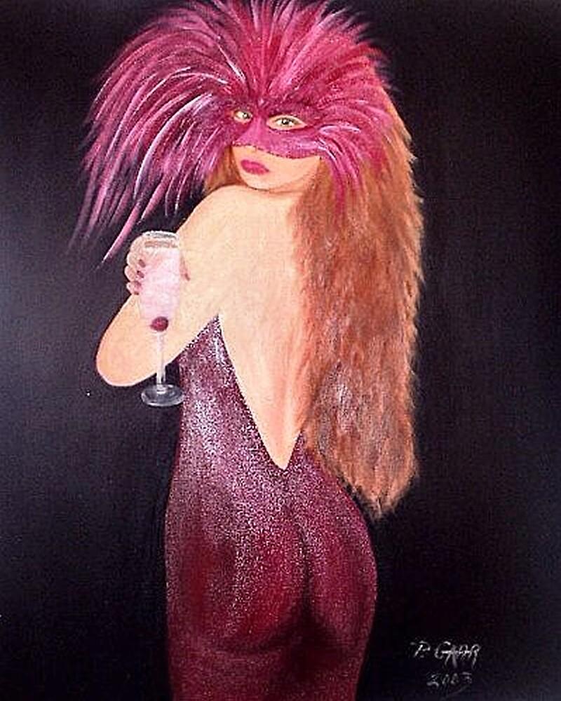 Masquerade Ball by Peggy Garr