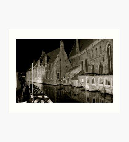 Saint John Hospital Bruges Art Print