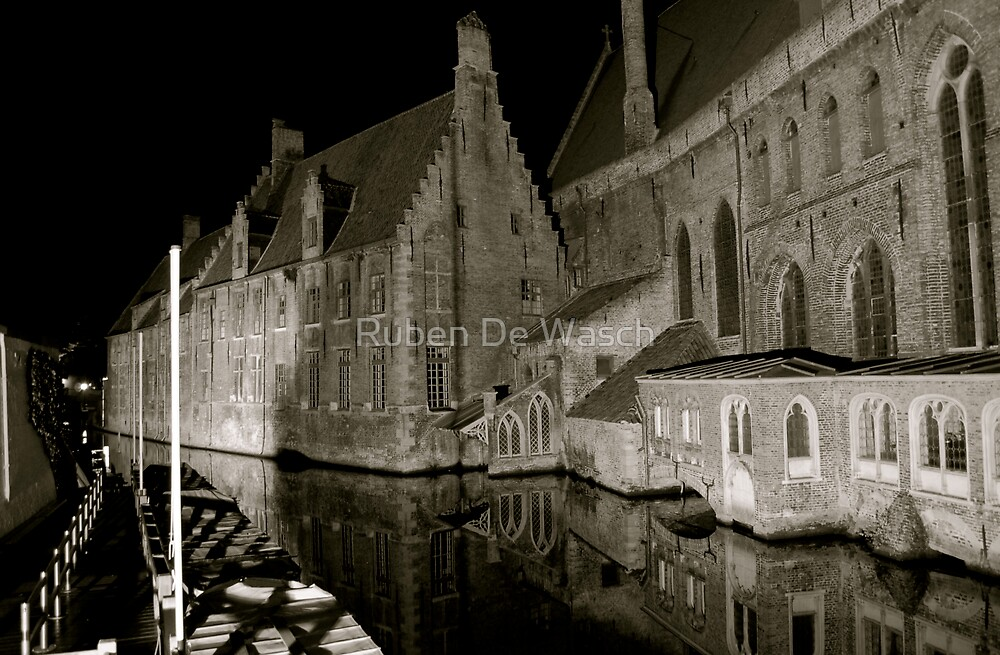 Saint John Hospital Bruges by Ruben De Wasch