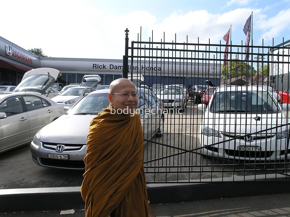 monkeein around town by bodymechanic