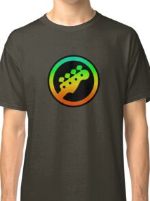 Bass  Guitar Colorful sign Classic T-Shirt