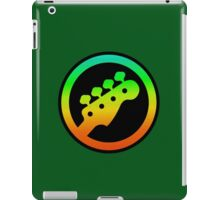 Bass  Guitar Colorful sign iPad Case/Skin