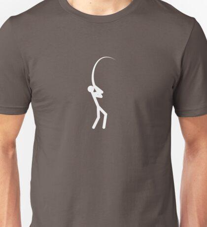 Fishing (white) Unisex T-Shirt