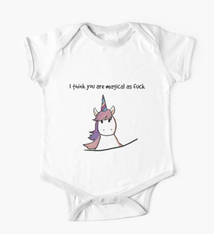 I Think You Are Magical One Piece - Short Sleeve