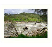Rapid River Art Print