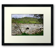 Rapid River Framed Print