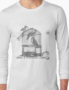 Why Is A Raven Like A Writing Desk? Long Sleeve T-Shirt