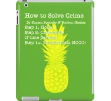 Learn the Psych Process iPad Case/Skin