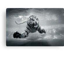 Underwater Danger Metal Print