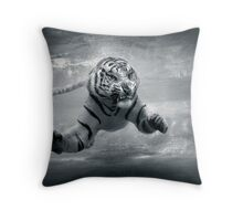 Underwater Danger Throw Pillow