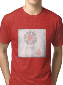 paper flower Tri-blend T-Shirt