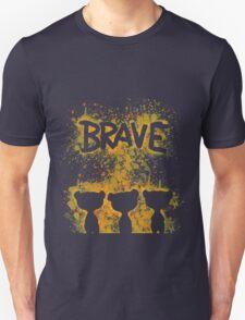 The Brave - Dark Bears  Unisex T-Shirt