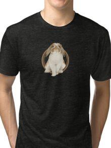 French Lop Rabbit (plain) Tri-blend T-Shirt