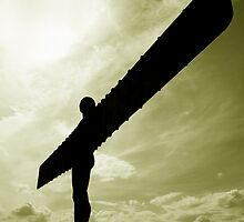 Angel of the North by Mandy Fell