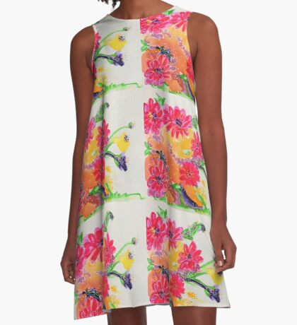 Early Spring A-Line Dress