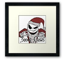 How 'horrible' our Christmas will be! - Nightmare before Christmas.  Framed Print