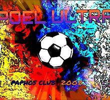 APOEL ULTRAS PAPHOS CLUB by AngieRocksArt
