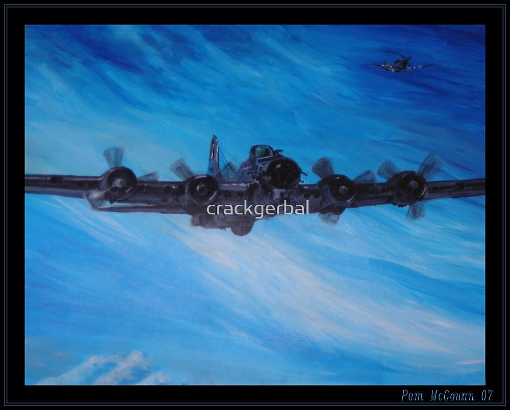B-17 Bomber by crackgerbal