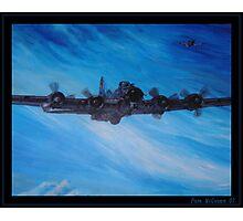B-17 Bomber Photographic Print