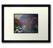 Like Sheep Framed Print