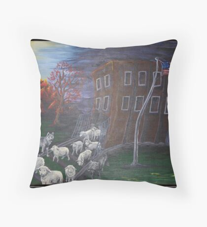 Like Sheep Throw Pillow